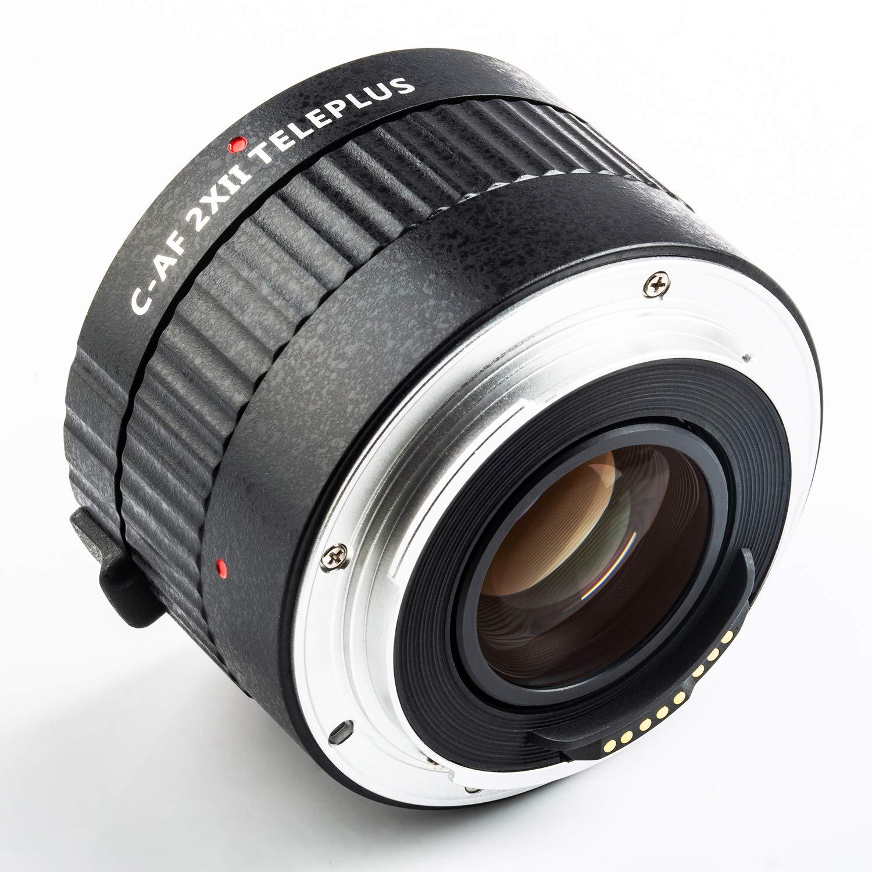 テレコンバージョンレンズ EFマウントレンズ用 VILTROX C-AF 2XII オートフォーカス 2倍テレプラス Canon テレコンバージョンレンズテレプラス テレコンバーター AF