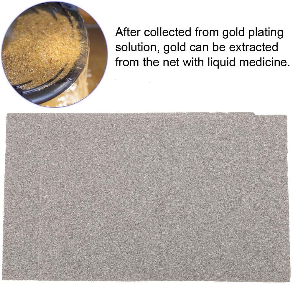 Greeflu NickelNet # 1 Schmuck /Überzug Juwelier Werkzeugteile Galvanikbad NickelMesh Gold Silber /Überzug Fl/üssigkeit Recycling Sammeln Net