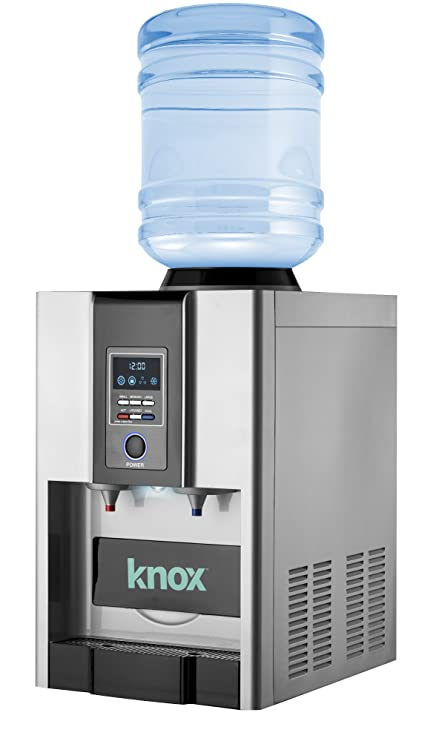 Ice maker hookup to hot water