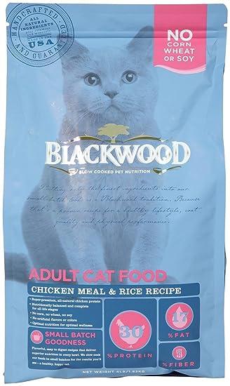 Amazon blackwood pet food 075492885022 chicken meal rice blackwood pet food 075492885022 chicken meal rice recipe adult dry cat food forumfinder Choice Image