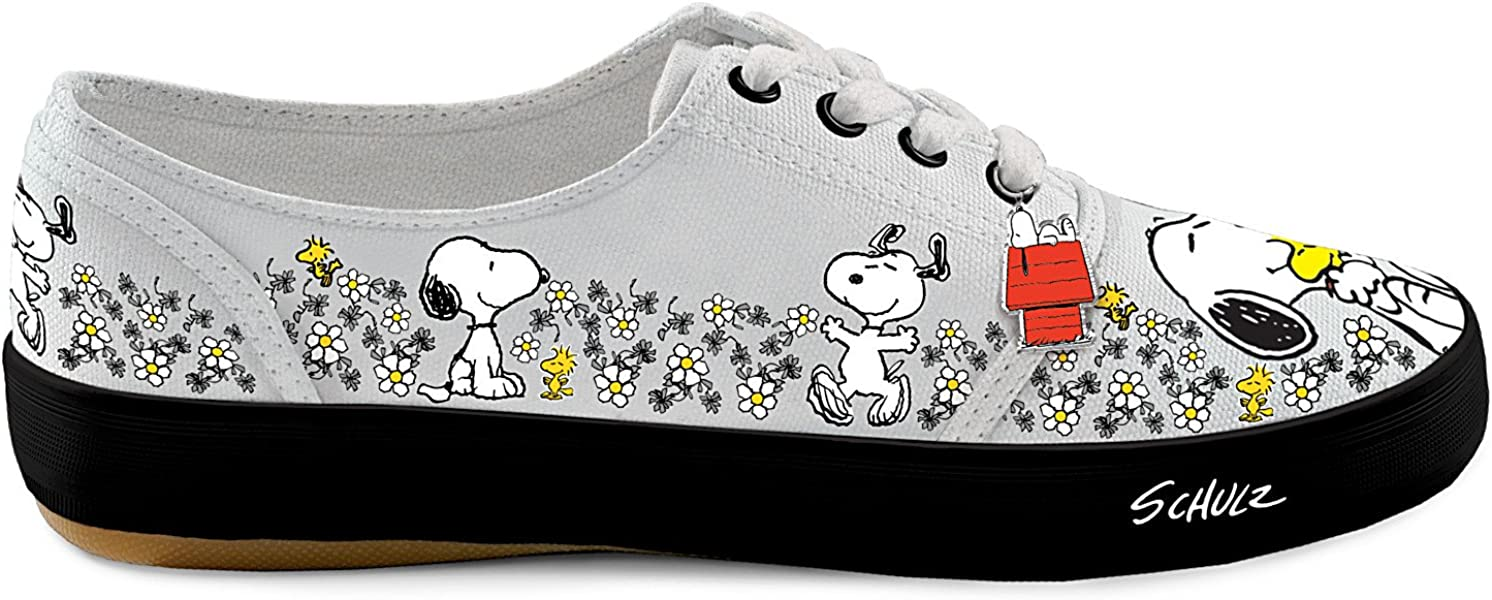 a760d2cae8 Bradford Exchange PEANUTS Happiness Is Friendship Women s Shoes With ...