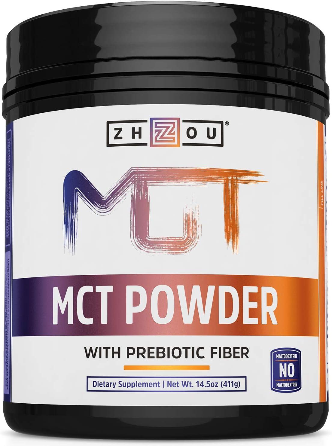 Zhou Nutrition MCT Powder with Prebiotic Fiber