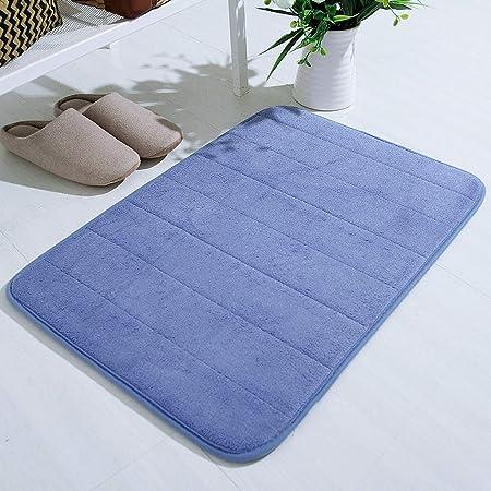 Absorbent Soft Non-slip Rug Memory Foam Bath Bathroom Bedroom Floor Shower Mat