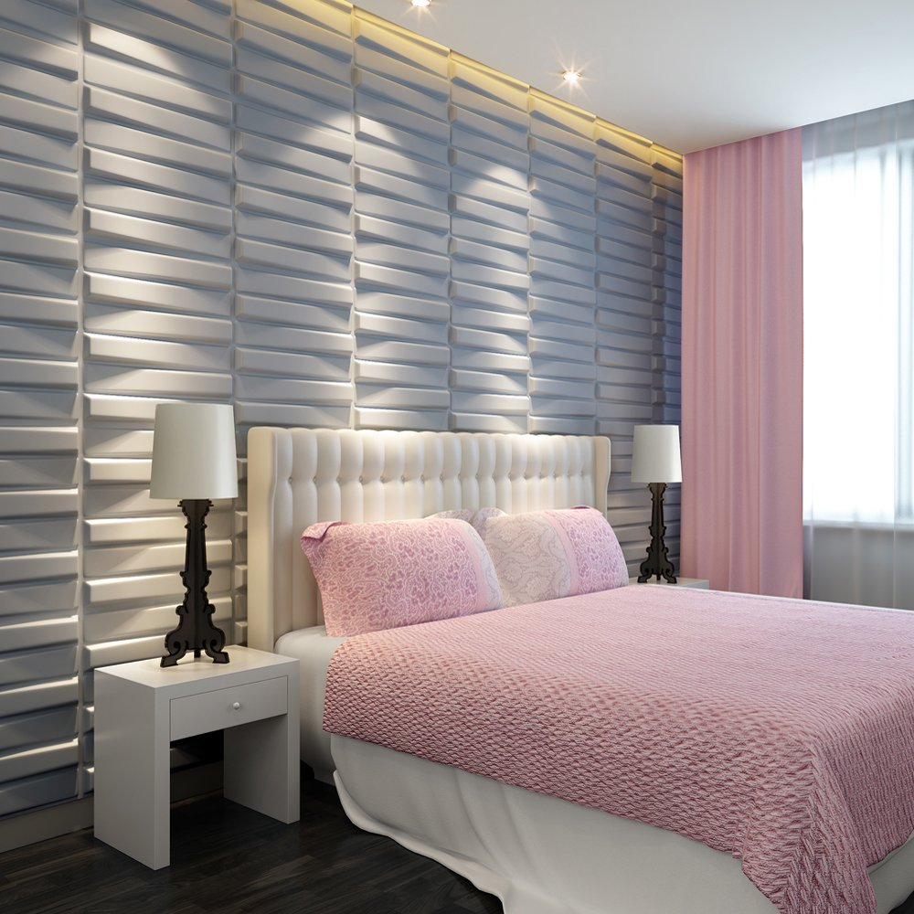 27 Sq.ft. of 3d Glue-on Wall Panels By Threedwall.com - Wallpaper ...