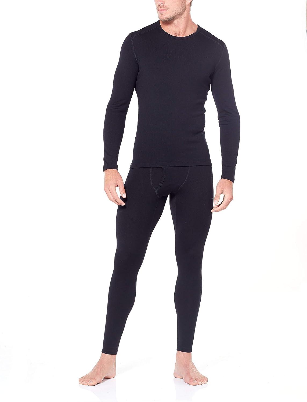 Merino Wool Icebreaker Merino Mens Tech Heavyweight Base Layer Leggings w//Fly
