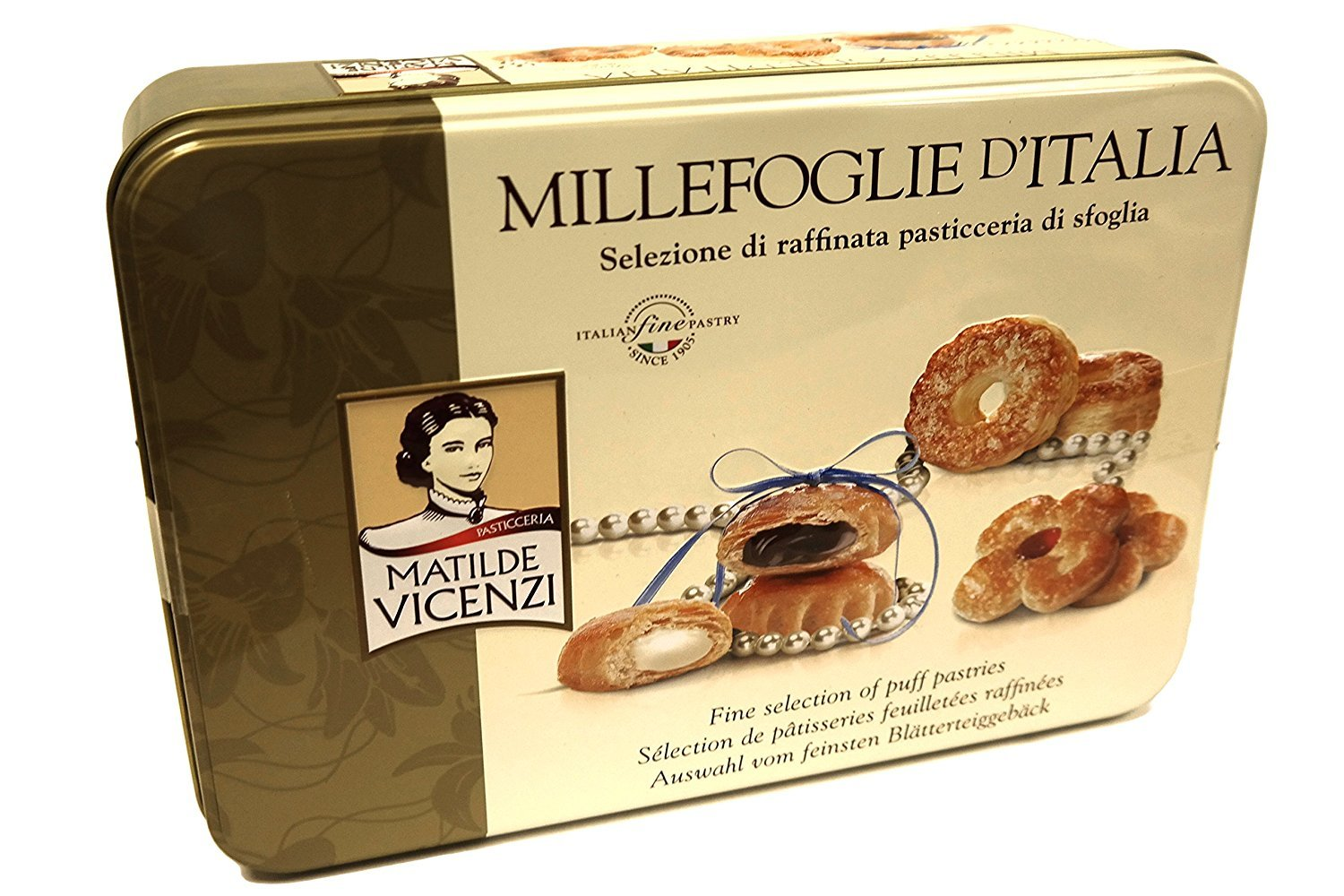 Millefoglie D'Italia Fine selection of puff pastries