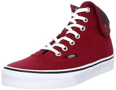 Original- niedrigerer Preis mit bester Lieferant Vans U Authentic Hi 2, Unisex Adults' Hi-Top Sneakers, Red ...