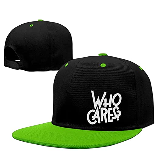 Top-Cap Who Cares Funny Quotes Hip Hop Strapback Hat Street ...