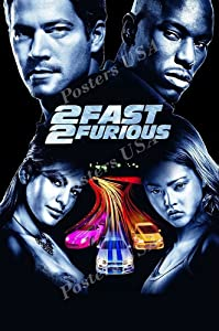 "Posters USA - 2 Fast and 2 Furious Movie Poster GLOSSY FINISH - MOV279 (24"" x 36"" (61cm x 91.5cm))"