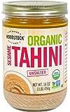 Woodstock Organic Tahini Sesame, No Salt, 16 oz