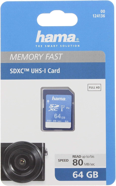 Hama Speicherkarte Sdhc 64gb Computer Zubehör