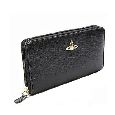 (ヴィヴィアンウエストウッド)Vivienne Westwood 長財布 5140 ラウンドファスナー財布 (ブラック/