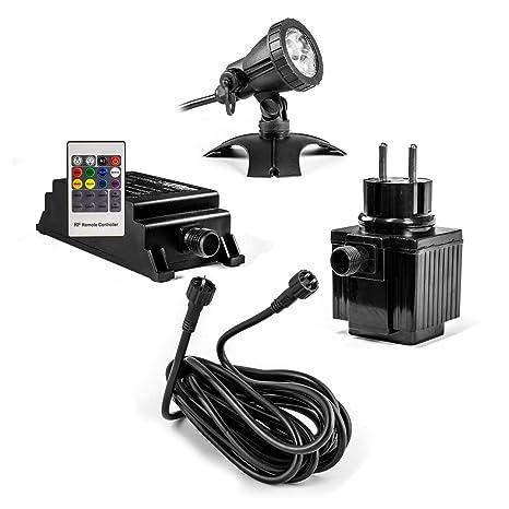 CLGarden S1UWS3 Establecer la luz subacuática RGB LED ...