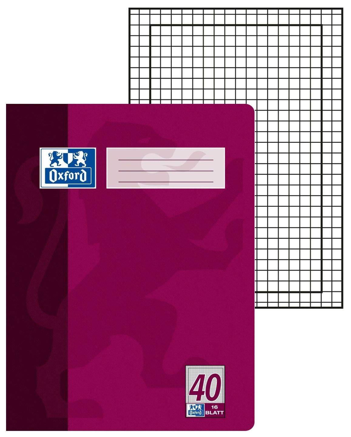 Hamelin 384401630 Oxford Lote de cuadernos 15 unidades, A4, formato de fondo 30, 16 p/áginas