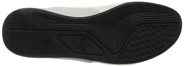 92d018fbc210df Puma Unisex Drift Cat 7 CLN White Sneakers - 12 UK India (47 EU)(36381302)   Amazon.in  Shoes   Handbags