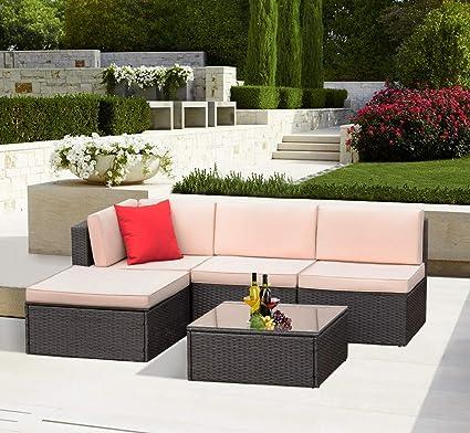 Amazon.com: KaiMeng - Juego de muebles de patio para ...