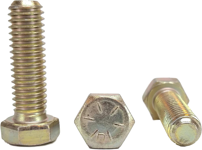 25 pcs Hex Head Cap Screws Grade 8 3//4 to 4 Lengths in Listing 3//8-16 x 1-1//2 Hex Head Bolts 3//8-16x1-1//2