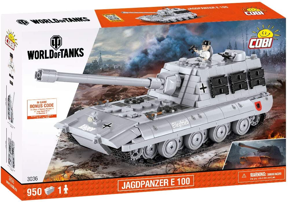 COBI World of Tanks Jagdpanzer E 100
