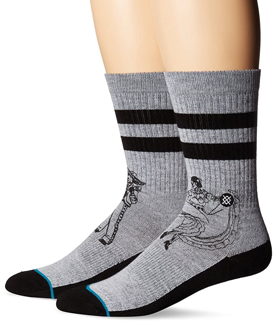 Stance mens Flamenco Crew Sock Stance Men' s Socks M526A17FLA
