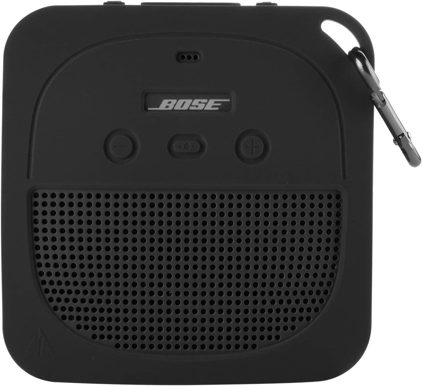 TXEsign Protective Silicone Stand Up Case for Bose Soundlink Micro Waterproof Bluetooth Portable Speaker (Dark Gray)