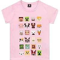 Minecraft Camiseta para niñas