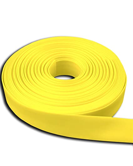 Heat Shrink Tubing Shrink Wrap 25 Ft Yellow 1/4