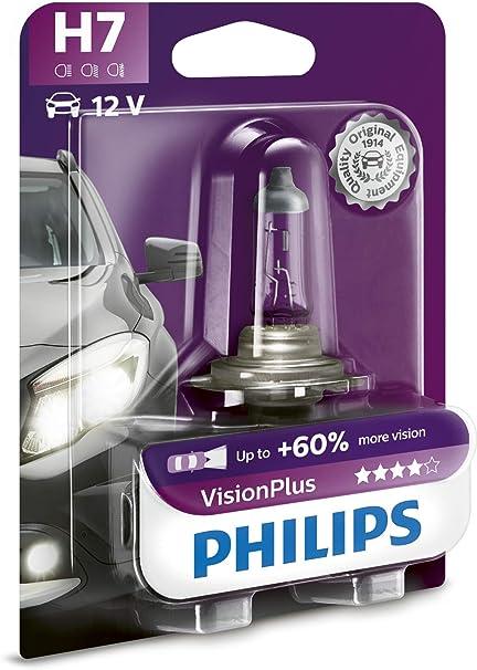 Oferta amazon: Philips 12972VPB1 VisionPlus - Bombilla H7 para faros delanteros