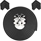 Rabofly Baby Proofing Edge & Corner Guards, 22.3 ft-(19.68ft Edge + 8 Corners) Furniture Bumper Cushion Table Edge Corner Pro