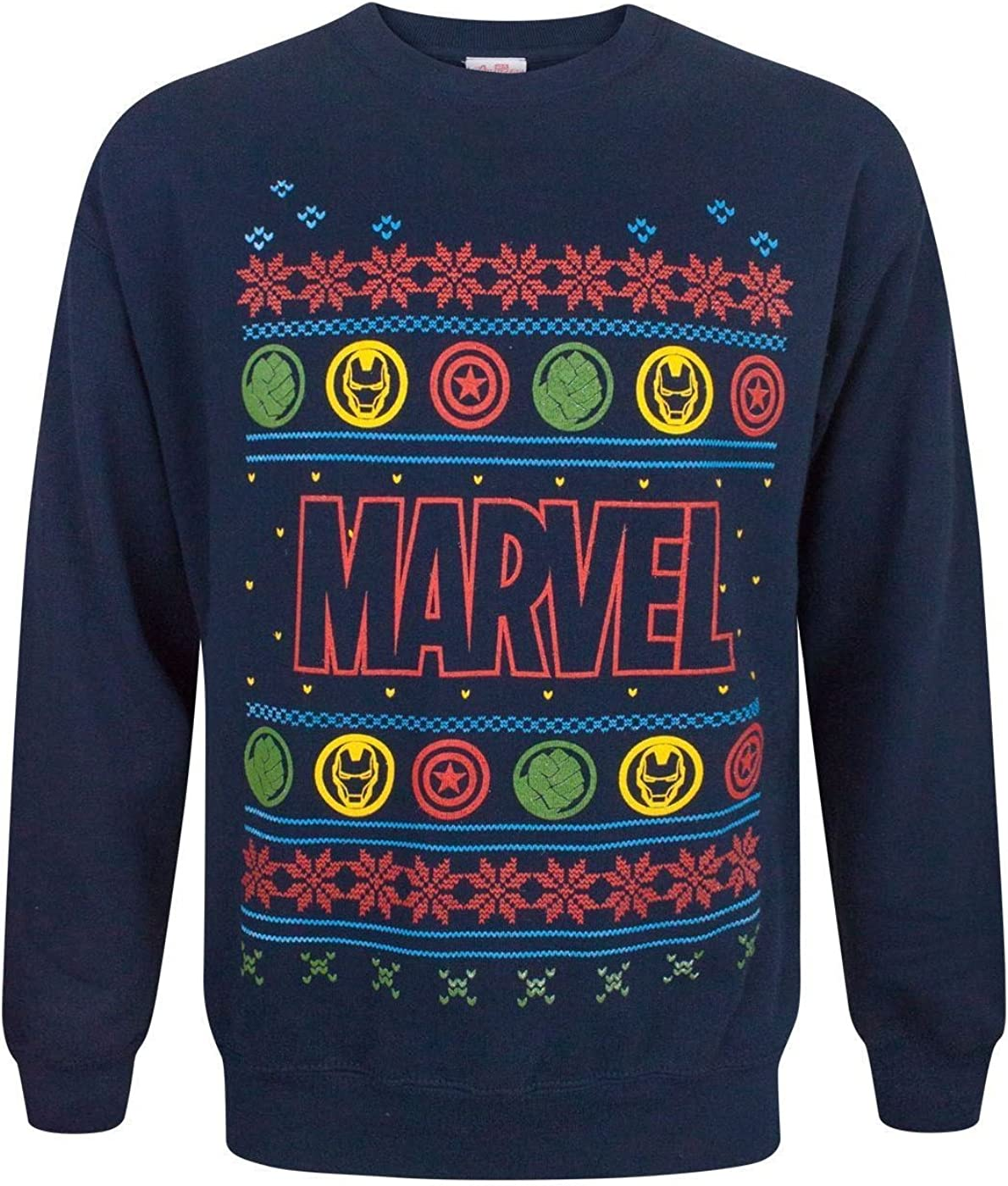 Marvel Logo Christmas Sweatshirt
