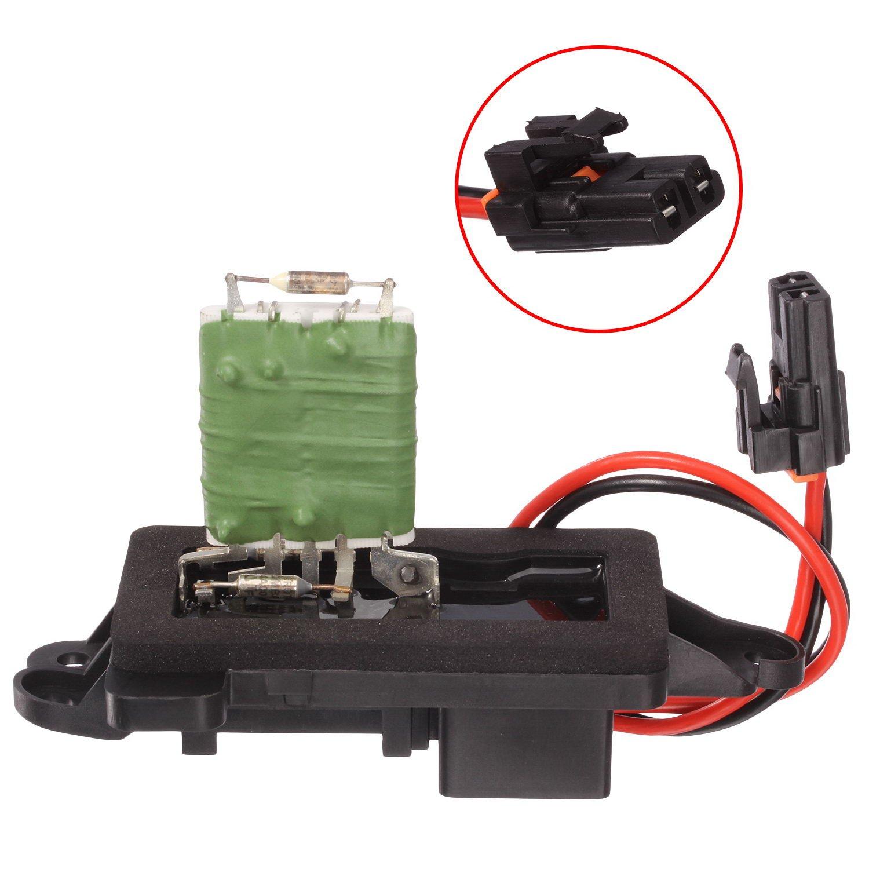 Heater Blower Motor Resistor 89019100 With Plug 04 Envoy Wiring Diagram Pigtail For Rainier Trailblazer Gmc Automotive