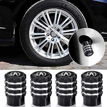 N//A 4 Pcs Metal Car Wheel Tire Valve Stem Caps Suit for Jeep Styling Decoration Accessories