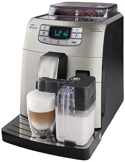 Saeco Intelia HD8753/89 - Cafetera (Máquina espresso, 1,5 L,