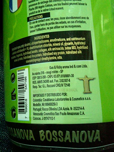 Amazon.com : CIRUGÍA CAPILAR Brazilian Bossanova Brillo de Diamante 1 Litro (Shampoo-Cirugía Capilar) : Everything Else
