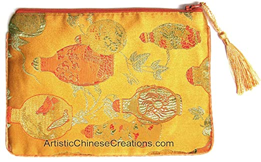 Artistic Chinese Creations Cartera China de Seda para Ropa y ...