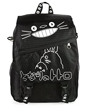c3e552dba2 CoolChange Sac à Dos / Sac bandoulière Noir de Totoro: Amazon.fr ...