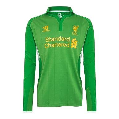 Warrior Kids Liverpool - Camiseta de fútbol infantil, tamaño M, color verde