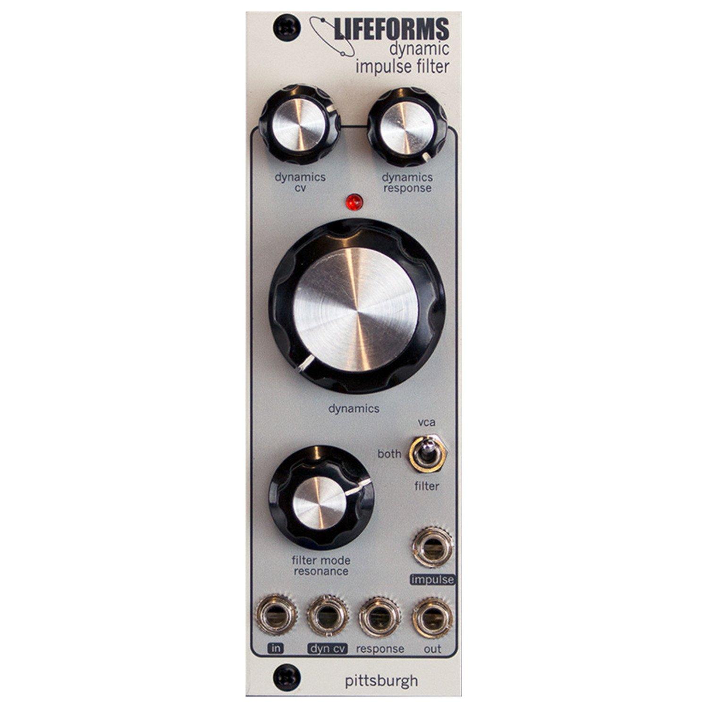 Pittsburgh Modular Lifeforms Dynamic Impulse Filter Eurorack Variable Lowpass Gate Module