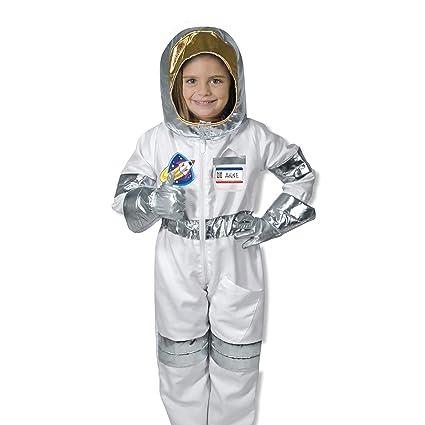 Amazon.com: melissa & doug disfraz de astronauta [Juguete ...
