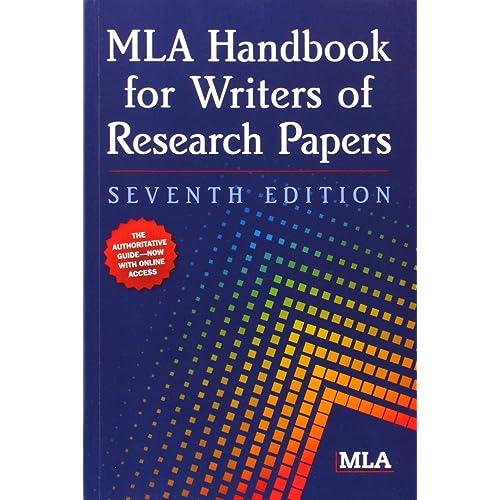mla handbook seventh edition pdf