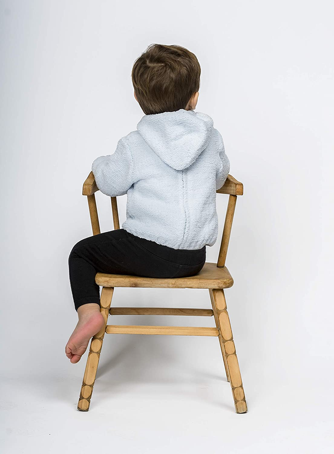 Carriage Boutique Baby Sweaters Zip Back Chenille Long Sleeve Fall//Winter Pullovers