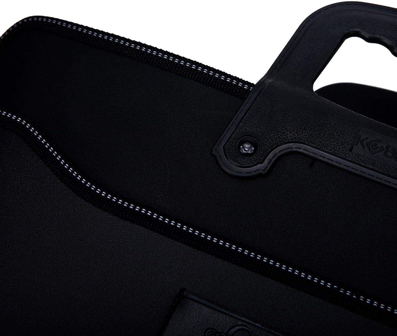 Elonglin Unisex Business Handbag Briefcase Oxford Laptop Bag Top Handle A4 File