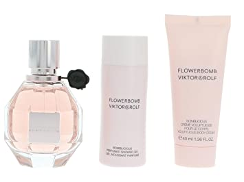 Viktor Rolf Flowerbomb Set Contains Eau De Parfum Spray 50 Ml