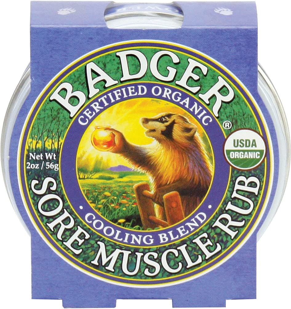 Badger, Muscle Rub Cool Blend Organic, 2 Ounce