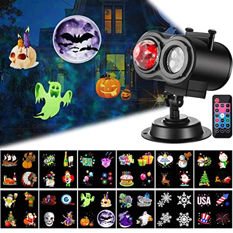 christmas projector lights with ocean wave outdoor holiday decorationshalloween led projector lights 2