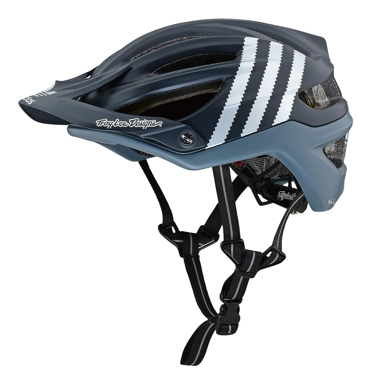 Troy Lee ヘルメット 限定版 自転車用 A2 Mips 2019年 モデル Addidas Team [並行輸入品] XL-XXL(60-63cm) ブラック B07NLLWK1L