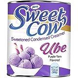 Jans Sweet Cow - Ube Sweetened Condensed Creamer - 13.40 oz (Ube, Pack of 1)