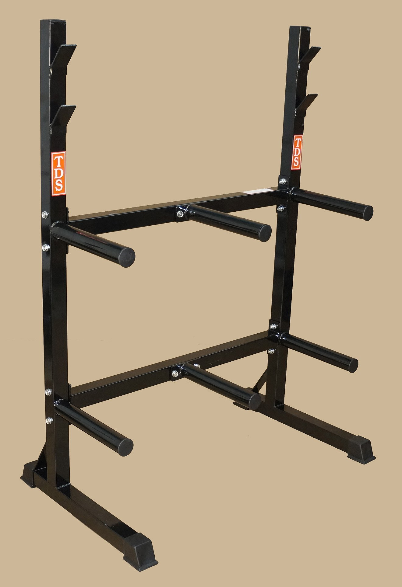 TDS Front Loading Rack for Rubber & Iron Olympic Plates