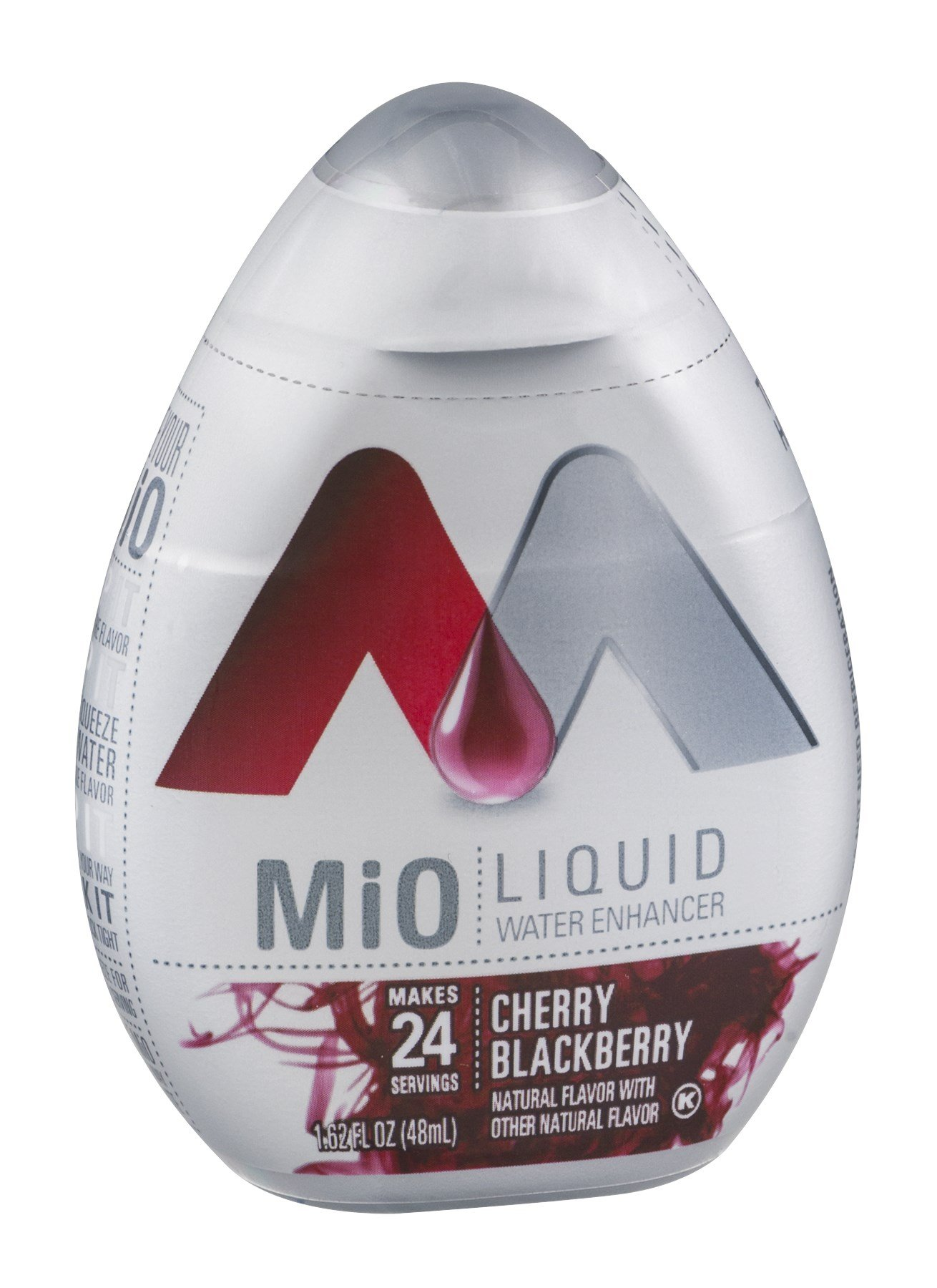Mio MiO Liquid Water Enhancer Cherry Blackberry 1.62 OZ (Pack of 24)