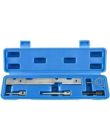 FreeTec Herramienta para bloqueo en el cambio de correa dentada y otros Motor Reparaci/ón trabajar para Audi /& VW 4.2 V8