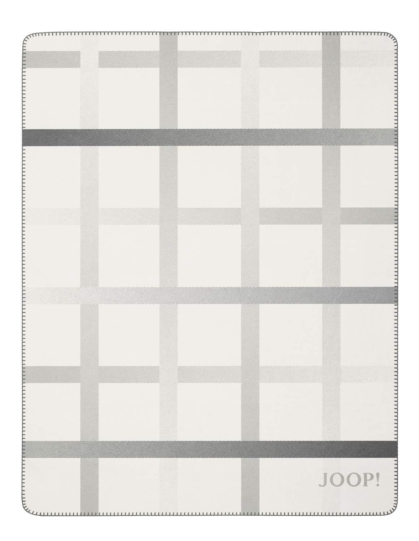 Joop  Wohndecke Square   Ecru-Ash - 150 x 200